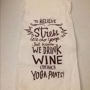 Primitives by Kathy LOL made you smile wine yoga